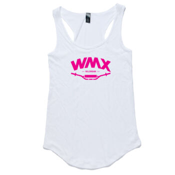 WMX Ladies Singlet White Thumbnail