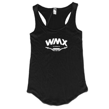 WMX Ladies SInglet Black Thumbnail